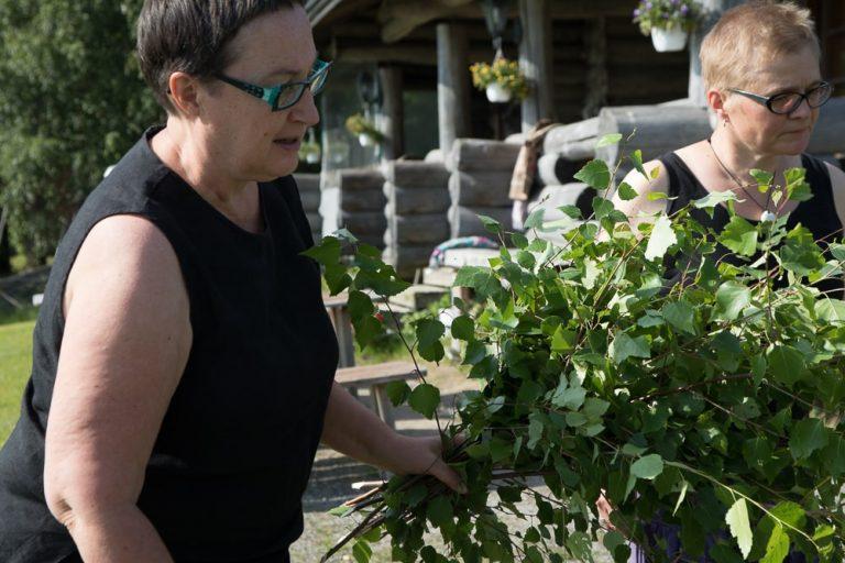 Mittsommer feiern mit Birkenbüscheln selbstgemacht ©Tarja Prüss - Tarjas Blog