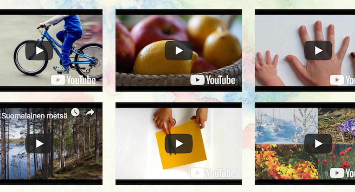 Kielinuppu - ein Projekt, damit Kinder leichter finnisch lernen ©kielinuppu